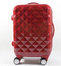 Atacado 20 24 28Vinches abs vermelho pc casado sacos de bagagem de viagem, bagagem carrinho de casamento com rodas-nos universais Rolando bagagem de Bagagem & Bags no Aliexpress.com | Alibaba Group