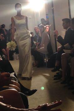 Carolina Herrera - New York Bridal Market - Spring 2015