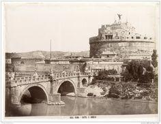 Italie, Roma, Castel S. Angelo 1880