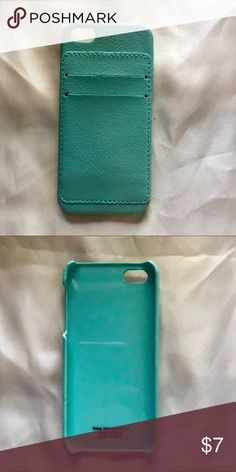 iPhone 5/5s/SE case Cute card holder phone case, perfect for running errands or the gym! In perfect condition Accessories Phone Cases
