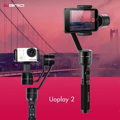 AIbird Uoplay 2 Handheld 3-Axis Gimbal Stabilizer for Smartphone for i Phone 7/6 and gopro 3 Uoplay 2#gimbal#Toys & Hobbies