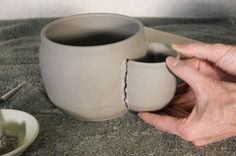 Something to make for the potter who has everything! haha..(holds water, sponge and tools)...