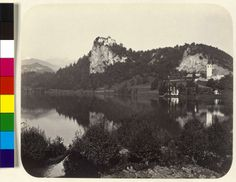 Titel Veldes /Bled Beschreibung Teilansicht mit Schloss. Autor Reiner, Johann