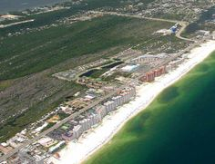 Aerial image of the Alabama Gulf Coast.  For homes for sale in the Orange Beach area, visit http://www.condoinvestment.com/orange-beach-al-subdivisions.php