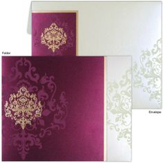 Wedding card is the essential part of wedding also media to invite the guests, a celebration which comes once in life. Islamic wedding cards or which is so called as Muslim wedding cards are made with variety of handmade paper at unique design pattern. #Wonderfulinvitationcard #Wedding