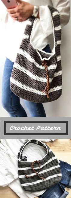 CROCHET PATTERN, The Adrian Bag , Crochet Pattern, Easy Bag Pattern, Crochet Pattern, Summer Bag Pattern, Pattern is Available for Download After Purchase #ad
