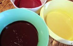 tort-cu-trio-mousse-7 - Rețete Merișor Chocolate Fondue, Mousse, Pudding, Desserts, Tailgate Desserts, Deserts, Moose, Puddings, Postres