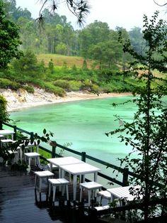 Linau Lake, Tomohon, North Sulawesi, Indonesia