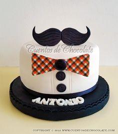 Mini torta personalizada para papá