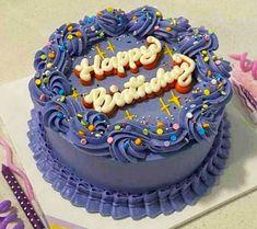 Pretty Birthday Cakes, Pretty Cakes, Beautiful Cakes, Amazing Cakes, Cake Birthday, Creative Birthday Cakes, Mini Cakes, Cupcake Cakes, Frog Cakes