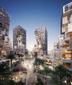MVRDV has revealed their first project in the UAE, Pixel, a mixed-use development that will serve as a centerpiece of Abu Dhabi's new Makers District. Concept Architecture, Beautiful Architecture, Landscape Architecture, Architecture Design, Abu Dhabi, Mix Use Building, Plakat Design, Mall Design, Pixel Design
