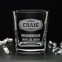 CAITLINDEAN  RUSH Etching 8 Wedding Rocks Glasses by distinctglass, $35.20