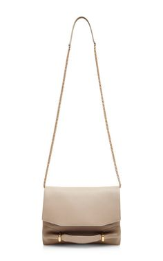 Marche Leather and Suede Clutch by Nina Ricci Now Available on Moda Operandi