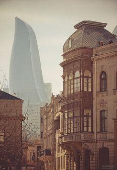 Flame Towers- Fairmont Hotel Baku