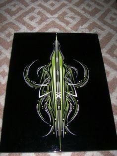 ... Hand Lettering Fonts, Typography, Pinstripe Art, Pinstriping Designs, Garage Art, Custom Paint Jobs, Airbrush Art, Lowbrow Art, Color Pencil Art