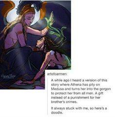 Medusa dating poseidon