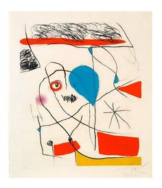 Joan Miró, Serie Pi de Formentor, 1976 on ArtStack #joan-miro #art
