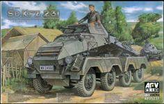 Scale Model - Sd.Kfz.231 8-Rad (early type) - AFV Club 35231