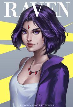 Flawless beauty- Raven