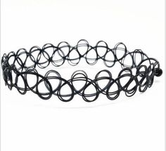 Tattoo style chokers have made the comeback from the 90's. Runways, TV and film - they are versatile and everywhere! Daytime to Night.  FREE SHIPPING USA Mad