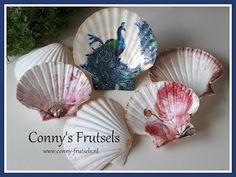 Conny's Frutsels: Schelpen, decoupage zomer souvenir .... Hand Fan, Home Appliances, Blog, Shells, Tutorials, I Like You, House Appliances, Conch Shells, Hand Fans