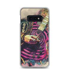 Zakk Wylde's guitar, mobile phone case, guitar art, samsung case, galaxy s7 case, galaxy s8 case, galaxy s9 case, galaxy s10 case Guitar Painting, Guitar Art, Cool Iphone Cases, Mobile Phone Cases, Music Wall Art, Guitar Gifts, S7 Case, Galaxy S8, Samsung Cases