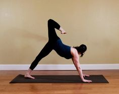 How to Get Strong Legs in Yoga Class    #myfitpin