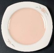 Nikko Quadrille Peachglow Salad Plates Nikko, Salad Plates, Dinnerware, Dinner Ware, Tableware, Dining Ware