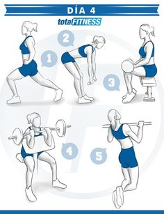 Plan de entrenamiento de 5 días para mujeres   Musculación   Total Fitness