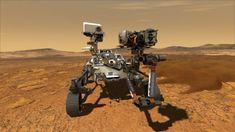 El Perseverance llega a Marte: el robot explorador de la NASA aterriza exitosamente en el planeta rojo - BBC News Mundo Medan, Bbc News, Mission Mars, Nasa Rover, Mars Landing, Curiosity Rover, Nasa Missions, Red Planet, Life On Mars