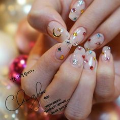 Chung Ha Nail (Roller Coster) Korean Nail Korean Art