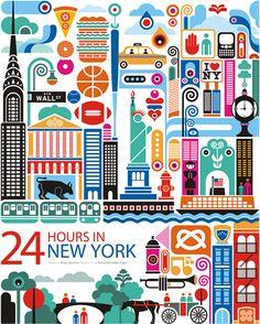 24 horas en New York, Estados Unidos