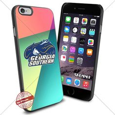 """Ncaa Georgia Southern Eagles,iPhone 6 4.7"""" & iPhone 6s Case Cover Protector for iPhone 6 & iPhone 6s TPU Rubber Case for Smartphone Black SHUMMA http://www.amazon.com/dp/B01C14NX9M/ref=cm_sw_r_pi_dp_M3YYwb0FAW6XE"""