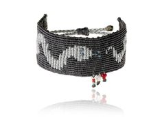 Zoe Kompitsi | Grey Silver Snake Bracelet
