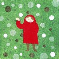 Lil Red Dandelion  Fine Art Print