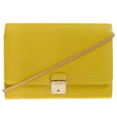 MARC JACOBS YELLOW SHOULDER BAG  www.VeryFirstTo.com