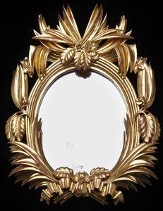 Dagobert Peche b. 1887, St. Michael im Lungau  d. 1923, Mödling bei Wien Mirror, Vienna 1922 Linden-wood, carved and gilt overall: 54 cm x 39.5 cm Neue Galerie New York.