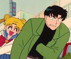 We Heart It, Moon Icon, Sailor Moon Aesthetic, Cartoon Outfits, Good Old Times, Chiba, Anime People, Manga, Wall Art