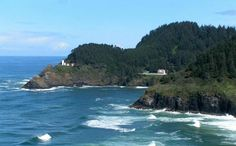 Florence, OR. Sea Lion Caves; Haunted Lighthouse.
