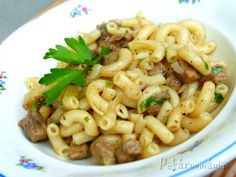 Kolínkoto No Salt Recipes, Pasta Recipes, Cooking Recipes, Healthy Recipes, Czech Recipes, Ethnic Recipes, Food 52, Main Meals, Pasta Salad