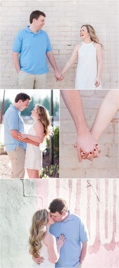 Downtown Woodruff, South Carolina Engagement Session