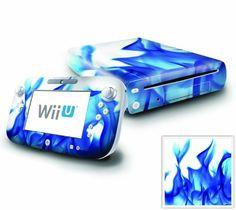 Nintendo Wii U Console and GamePad Decal skin Sticker - Blue Flame DecalSkin http://www.amazon.com/dp/B00B4M13LS/ref=cm_sw_r_pi_dp_hvS7ub0WV4RZM