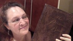 Carma Spence holding a copy of The Princess Bride Deluxe Edition Tv Reviews, Book Review, Science Fiction, Books To Read, Horror, Fantasy, Bride, Princess, Sci Fi