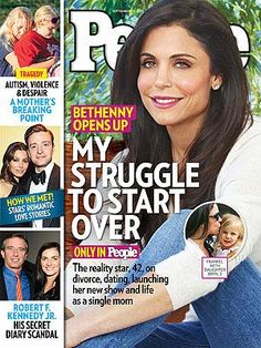 ON NEWSSTANDS 9/13/13: Bethenny Frankel: 'I'm Not Going To Be Afraid'.Plus: RFK Jr's secret diary scandal, how the stars met and more. http://www.people.com/people/article/0,,20733471,00.html