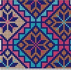 Cross Stitch Geometric, Cross Stitch Bird, Cross Stitch Alphabet, Cross Stitch Designs, Cross Stitching, Cross Stitch Embroidery, Cross Stitch Patterns, Crochet Diagram, Crochet Chart