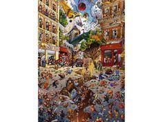 Heye Puzzle - Loup, Apocalypse