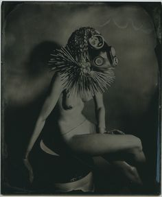 "By: Marcus Gabriel Title: ""Queen of Utopia"" Country: Italy Date: Mythological Characters, Wet Plate Collodion, International Artist, Gabriel, Mythology, Old School, Babe, Italy, Queen"