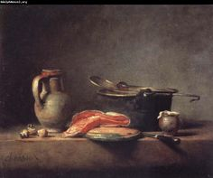 Low Key  by Chardin  1760