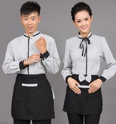 hot saling fashionable designed hotel restaurant uniform $25.66~$36.33: