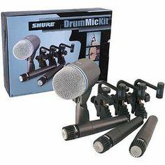 Shure DMK57-52 Drum Mic Kit. needs more research
